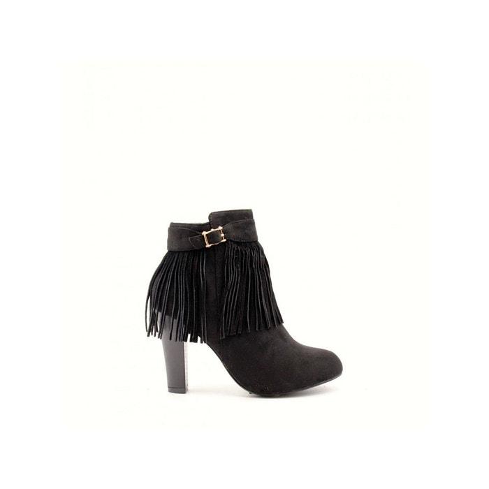 Boots alizee  noir Ju & Zo  La Redoute