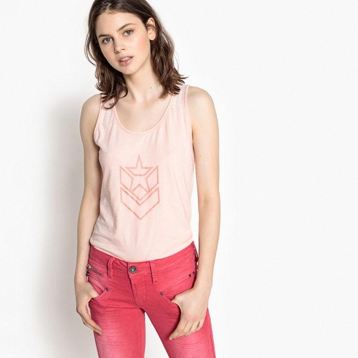 T-shirt scollo rotondo, senza maniche  FREEMAN T. PORTER image 0