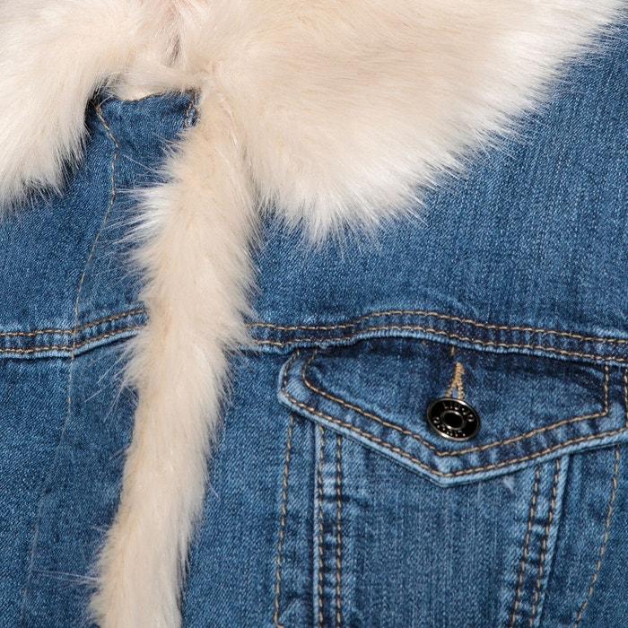 Veste en jean coupe droite denim Liu Jo   La Redoute b012d3872271
