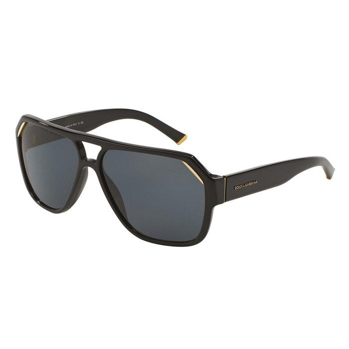 Lunettes de soleil dg4138 noir Dolce Gabbana   La Redoute 6337dd8e6b78