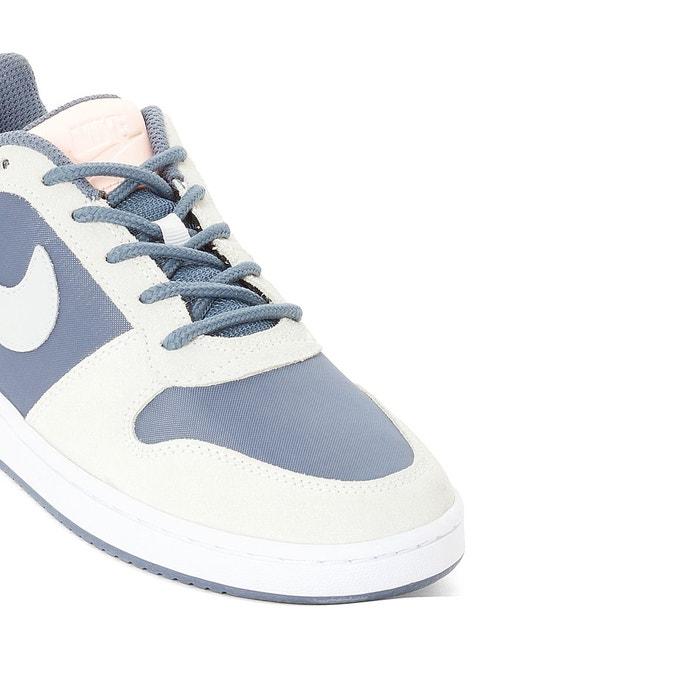 Baskets montants court borough low prem bleu Nike