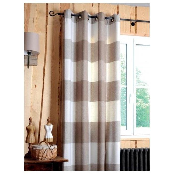 rideaux montagne rideau carreaux esprit montagne chic home maison image with rideaux montagne. Black Bedroom Furniture Sets. Home Design Ideas