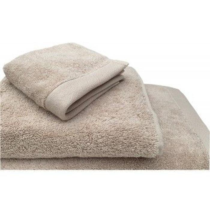 serviette de bain 685g m2 beige dune beige dune liou la redoute. Black Bedroom Furniture Sets. Home Design Ideas