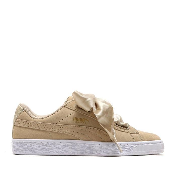 Chaussures heart suede safari wns safari beige Puma