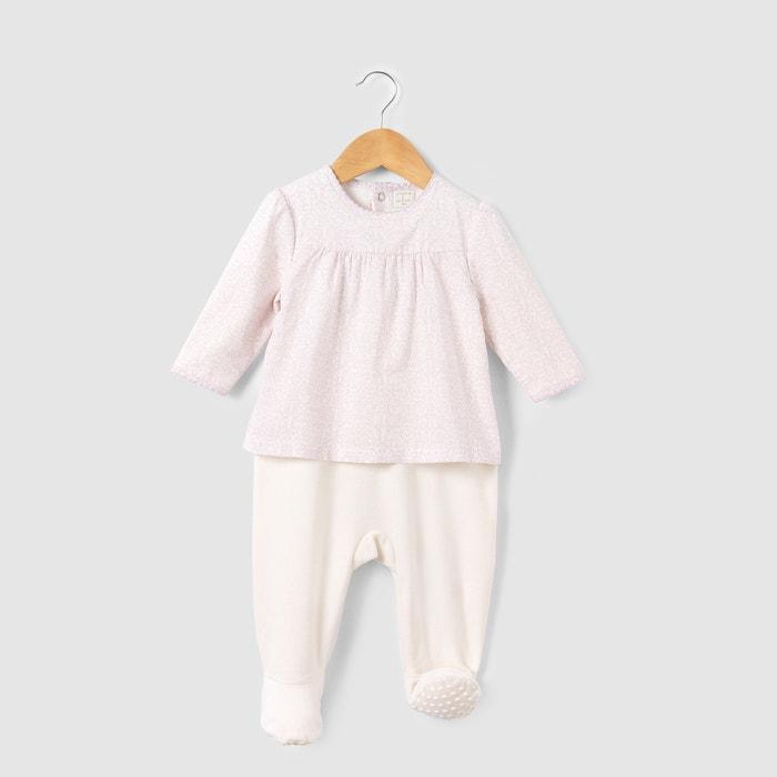 Image LADURÉE Dual Fabric 2-Piece Pyjamas, Newborn-3 Years R mini