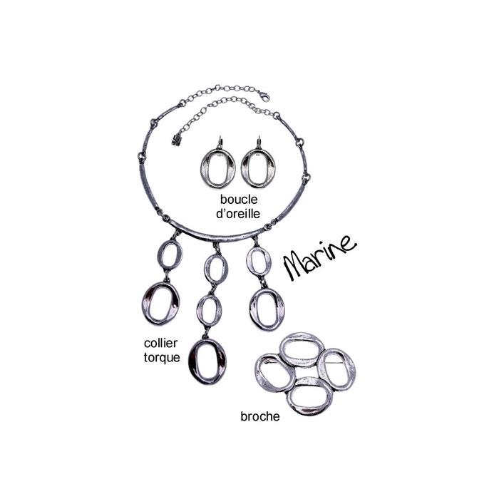 Parure bijoux en métal argenté fin de collection marine argent Lili La Pie | La Redoute Par Carte De Crédit À Vendre Livraison Gratuite Grande Remise cool Authentique Vente En Ligne Vente Prix Incroyable 4rca6J
