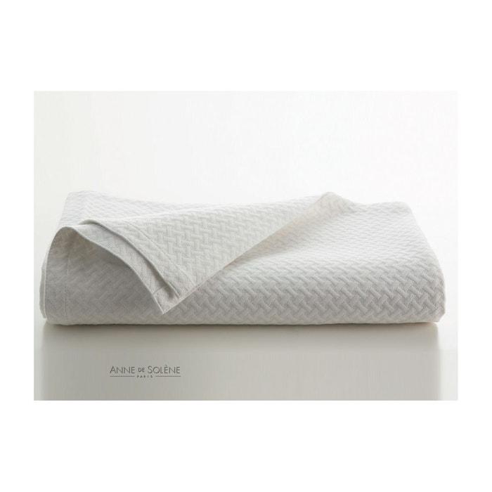 jet de lit safira blanc blanc anne de solene la redoute. Black Bedroom Furniture Sets. Home Design Ideas