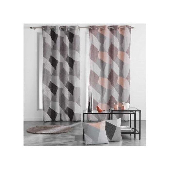 rideau esprit puzzle douceur d interieur la redoute. Black Bedroom Furniture Sets. Home Design Ideas