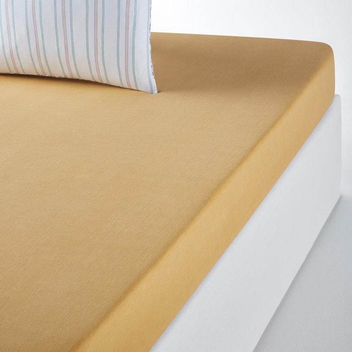 Saumane Plain Fitted Sheet  La Redoute Interieurs image 0