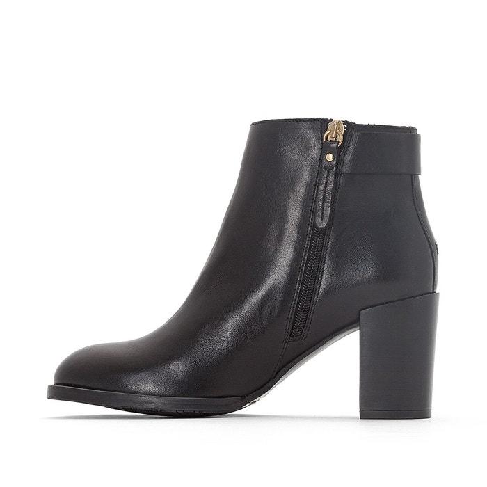 Boots cuir penelope noir Tommy Hilfiger