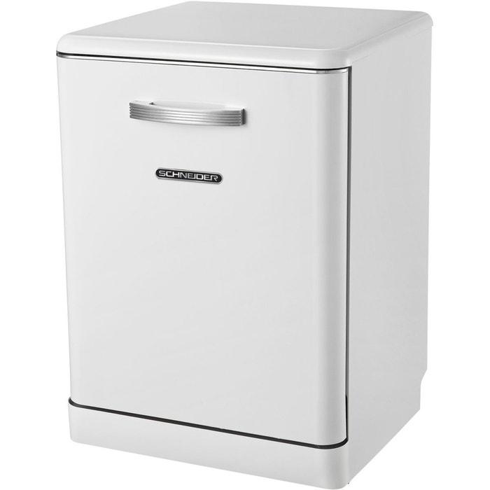 lave vaisselle 60 cm sdw1444vw vintage blanc schneider la redoute. Black Bedroom Furniture Sets. Home Design Ideas
