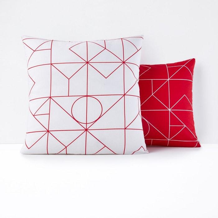 taie d 39 oreiller pur coton vidmey la redoute interieurs. Black Bedroom Furniture Sets. Home Design Ideas