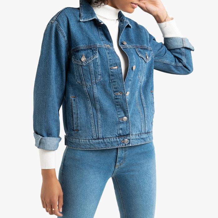 69a601d6357f5 Veste en jean coupe ample