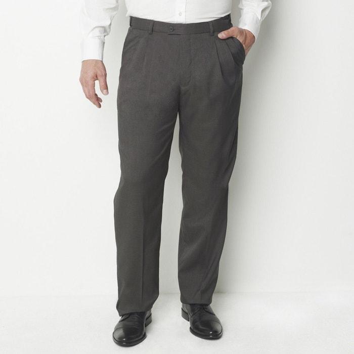 Image Straight Smart Trousers CASTALUNA FOR MEN