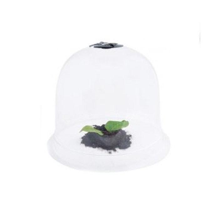 Cloche de jardin en plastique petit mod le hauteur 20 - Cloche en plastique transparent jardin ...