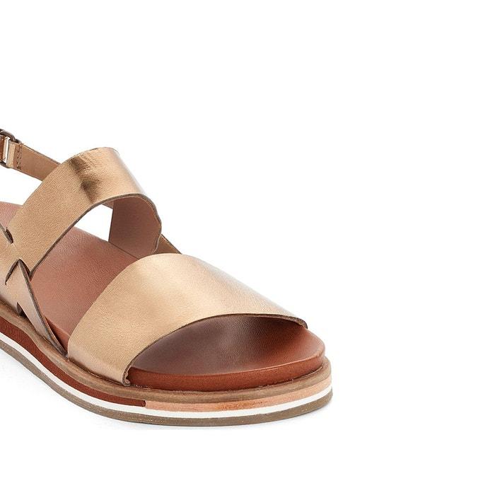 Sandales cuir olivera Kickers