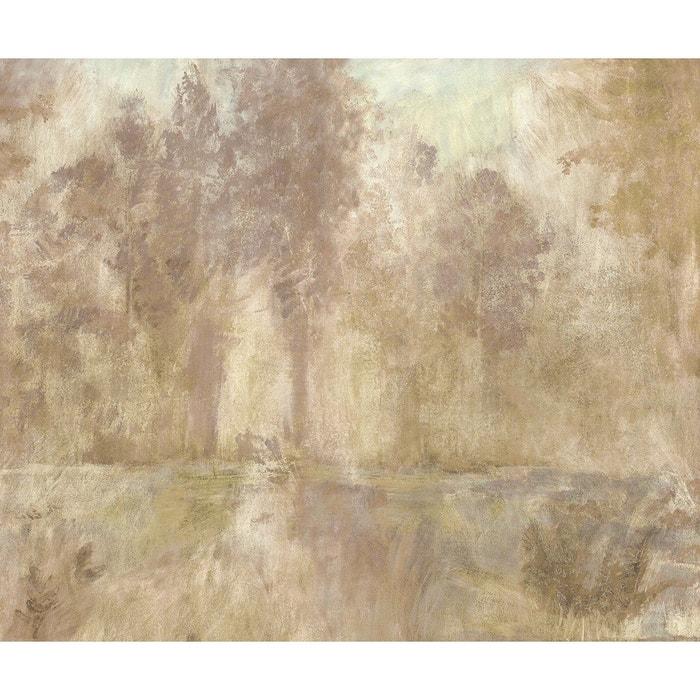 Papier Peint Panoramique Motif Fresque Jardin Nostalgique Peinture