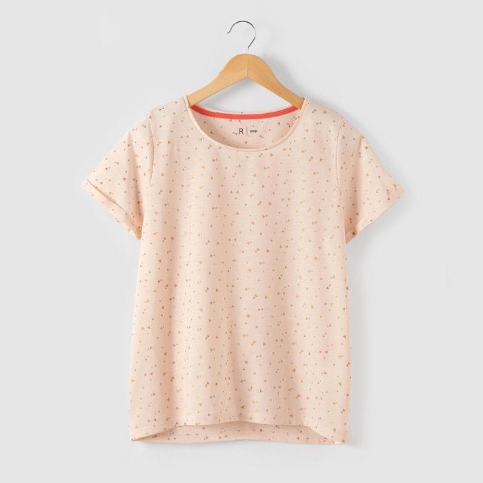 Image T-shirt imprimé triangles pailletés 10-16 ans R pop
