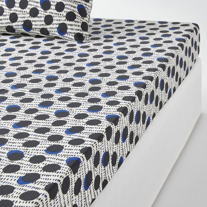 Image Drap housse en percale de coton, WAFU La Redoute Interieurs