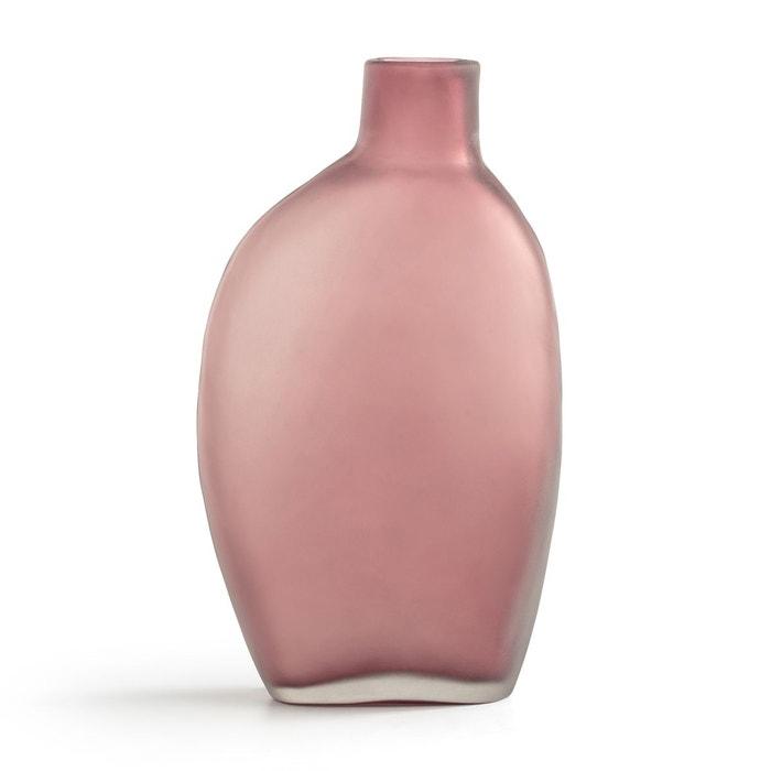 Vase en verre givré H25,5 cm Callippe  AM.PM image 0