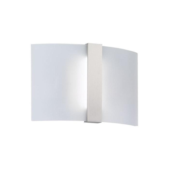 applique murale design led clip blanche en m tal blanc keria la redoute. Black Bedroom Furniture Sets. Home Design Ideas