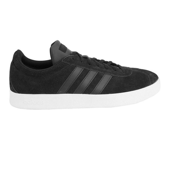 buy popular dc1c2 d9f96 Adidas originals vl court 2.0 chaussures mode cuir suede sneakers homme  noir Adidas Originals   La Redoute