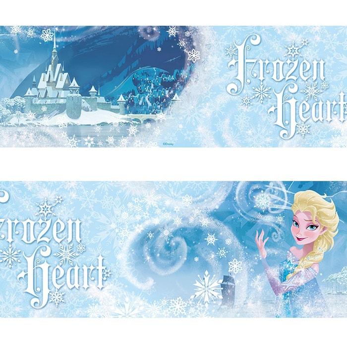 Frise elsa la reine des neiges disney frozen 500 cm x 10 6 cm bleu walltastic la redoute - Frise reine des neiges ...