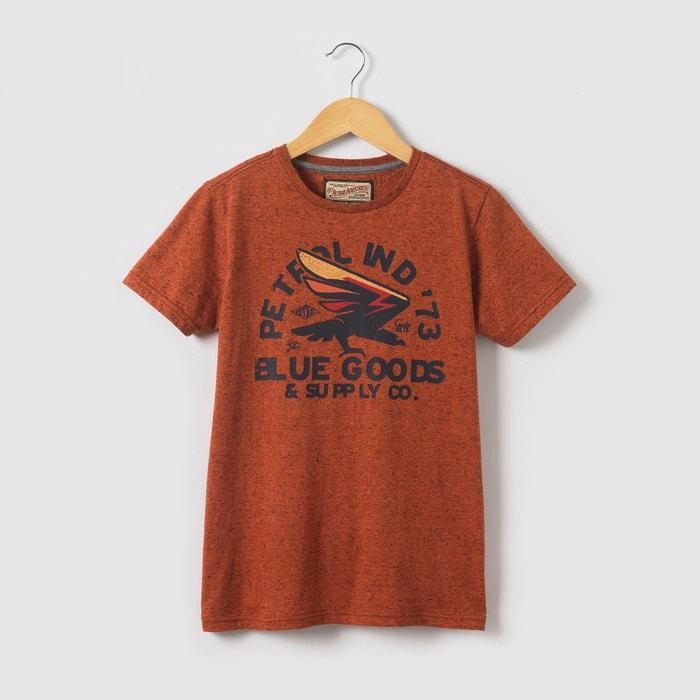 T-shirt de mangas curtas estampada, 8 - 16 anos  PETROL INDUSTRIES image 0