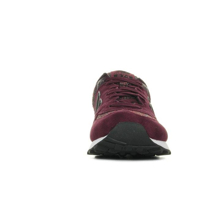 Baskets femme wl574 dcx bordeaux New Balance