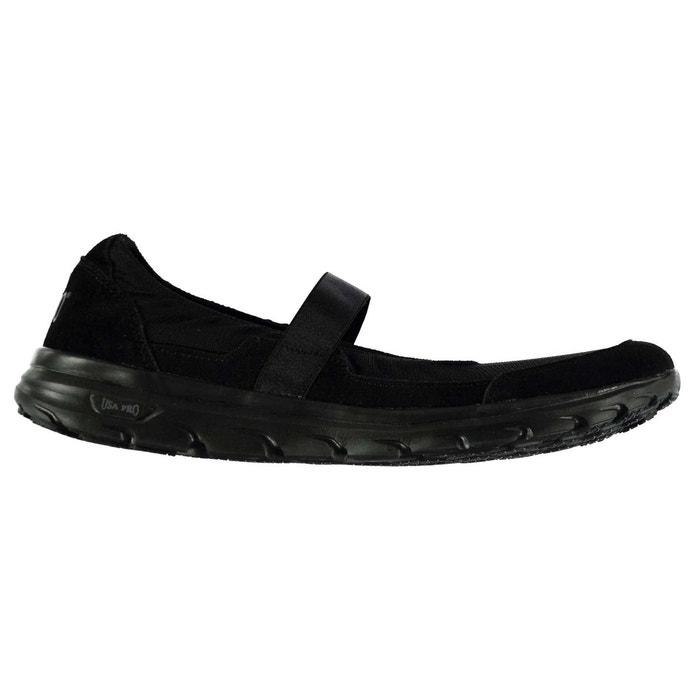 Chaussure à enfiler noir/noir Usa Pro