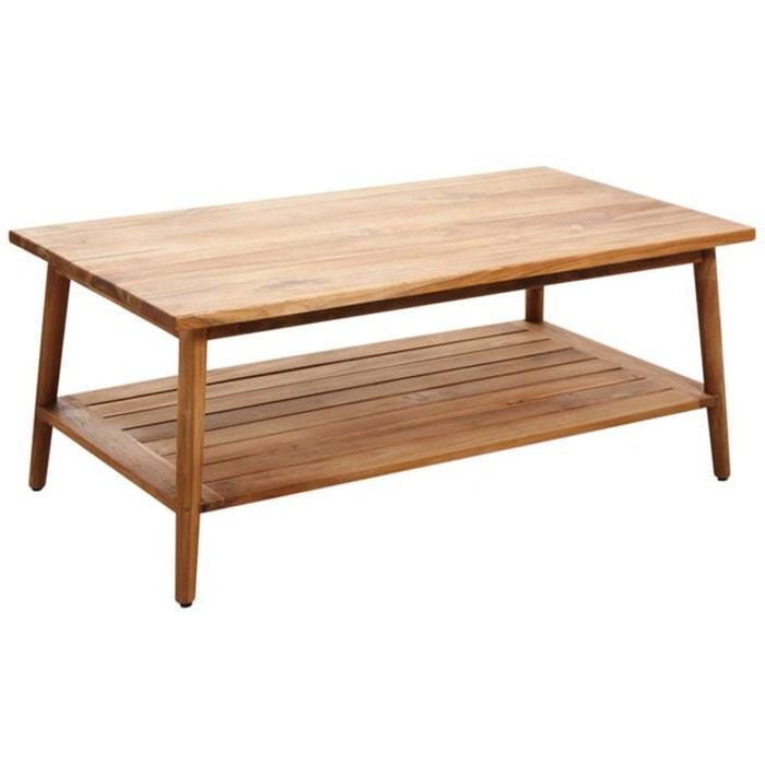 table basse en teck naturel aubry gaspard la redoute. Black Bedroom Furniture Sets. Home Design Ideas
