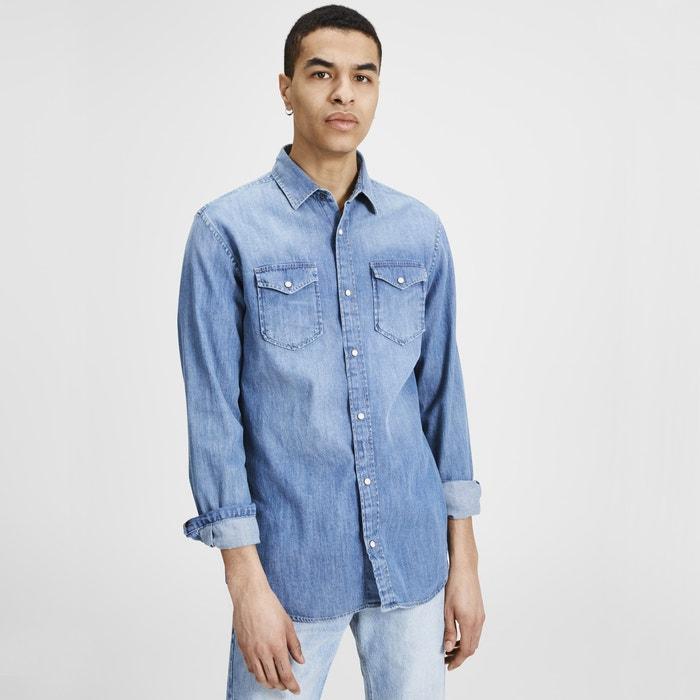 Camicia dritta, maniche lunghe  JACK & JONES image 0