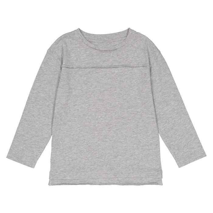 Camiseta de manga larga oversize 3-12 años  La Redoute Collections image 0