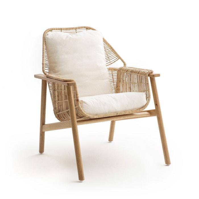 fauteuil rotin tress prasine naturel am pm la redoute. Black Bedroom Furniture Sets. Home Design Ideas