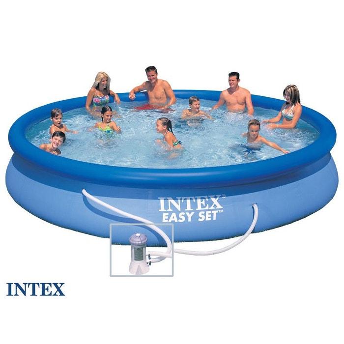 piscine autoport e easy set 4 57 x 0 84 m intex couleur. Black Bedroom Furniture Sets. Home Design Ideas
