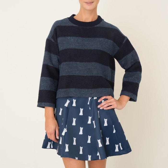 Темно синий пуловер доставка