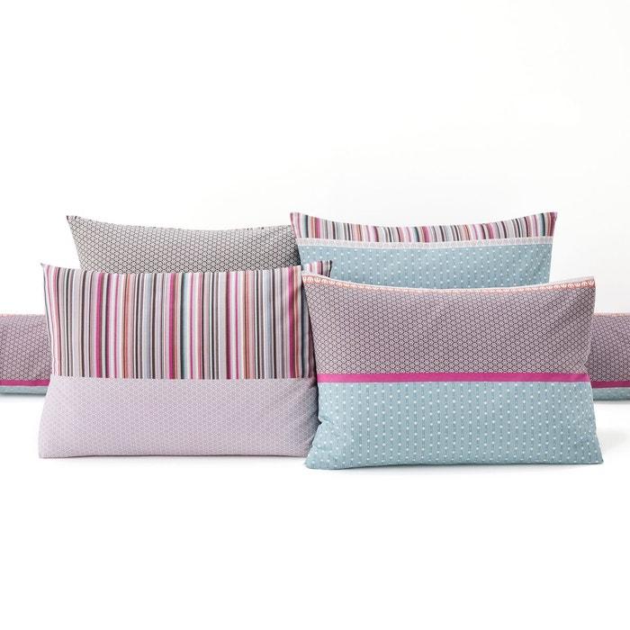 taie d 39 oreiller coton metismix la redoute interieurs la. Black Bedroom Furniture Sets. Home Design Ideas