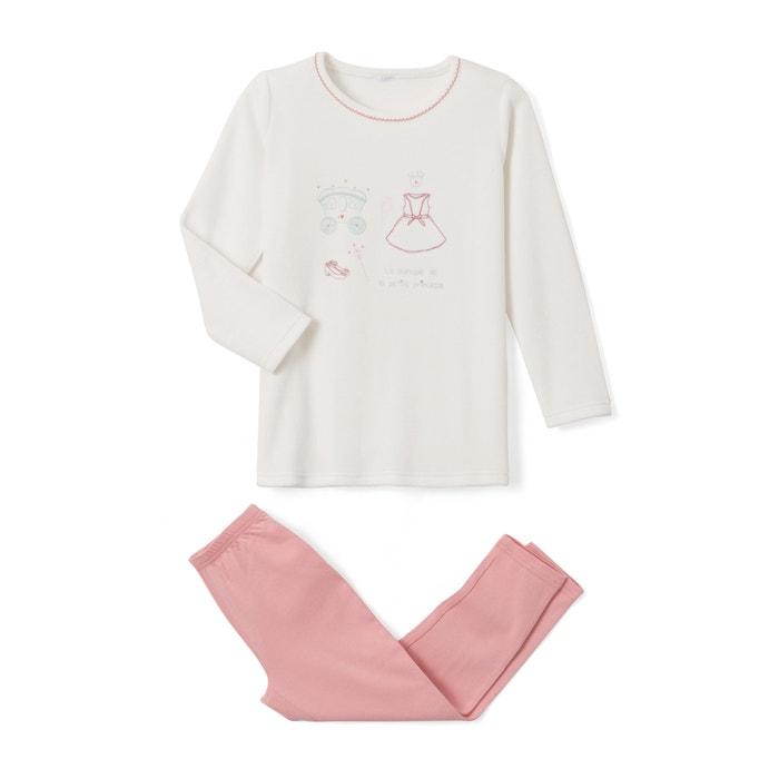 Princess Print Pyjamas, 2-12 Years  La Redoute Collections image 0