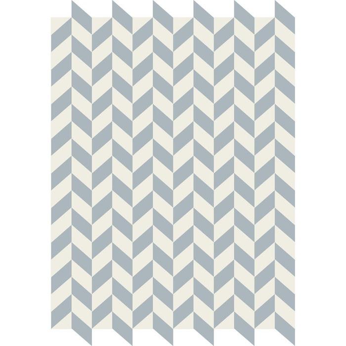 tapis vinyle pour interieur et exterieur stockolm bleu art. Black Bedroom Furniture Sets. Home Design Ideas