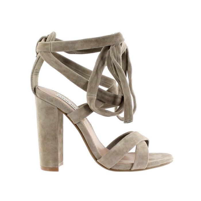 Sandale à talon et lacets montants Steve Madden Vente Lieux De Sortie MNXC83