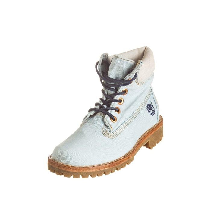 Boot ltd fabric 6in bleu Timberland Achats Vente De Vente En Ligne Manchester Pas Cher OcZHO