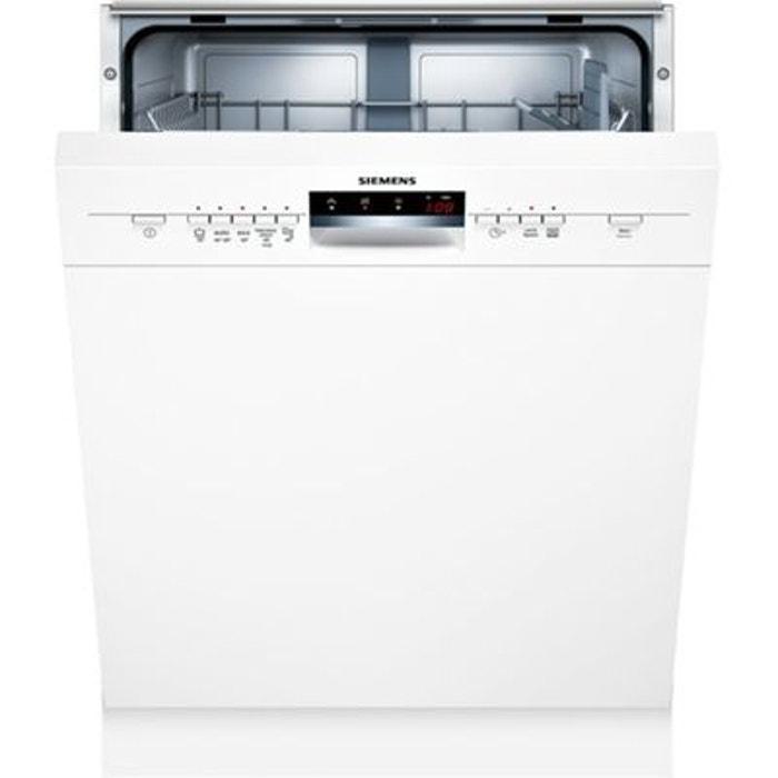 siemens lave vaisselle int grable sn35l230eu blanc blanc siemens la redoute. Black Bedroom Furniture Sets. Home Design Ideas