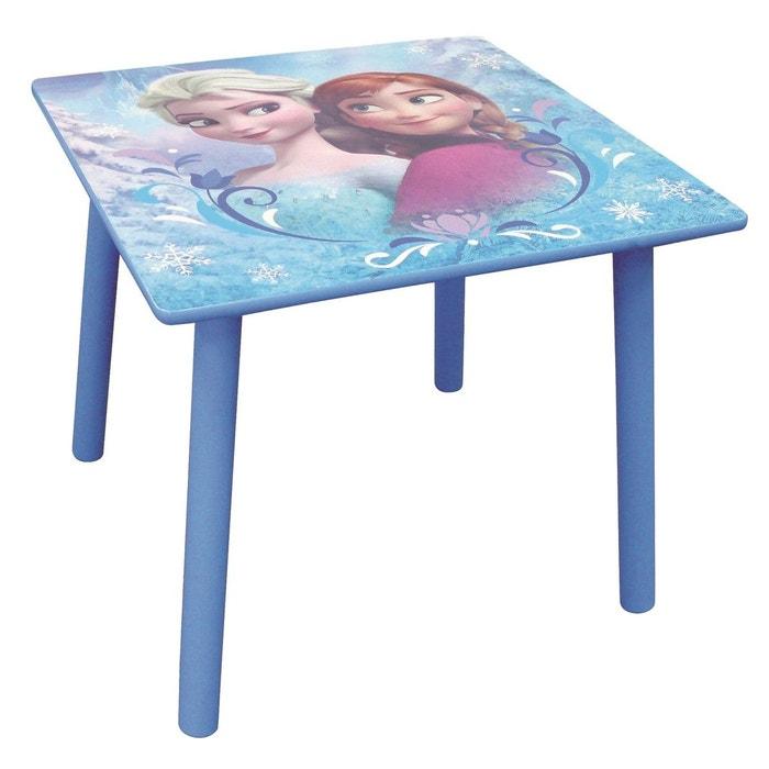 table carr e disney reine des neiges bleu fun house la redoute. Black Bedroom Furniture Sets. Home Design Ideas