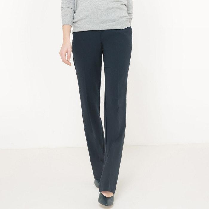 Pantalon droit, longueur 34 La Redoute Collections