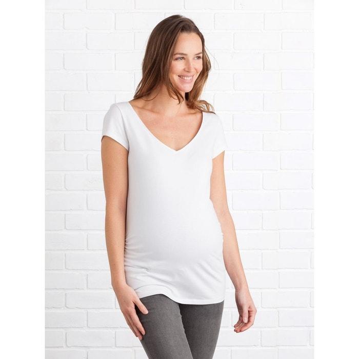 Lot de 2 T-shirts de grossesse encolure en V VERTBAUDET