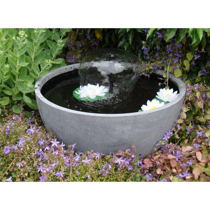 Fontaine de jardin ronde - grise couleur unique Ubbink | La Redoute