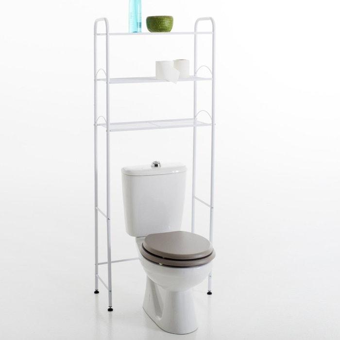 Wc meubel 2 kleuren wit la redoute interieurs la redoute - Schilderkunst wc kleuren ...