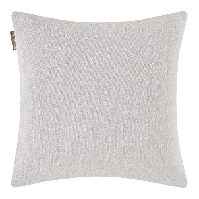 enveloppe de coussin nino blanc madura la redoute