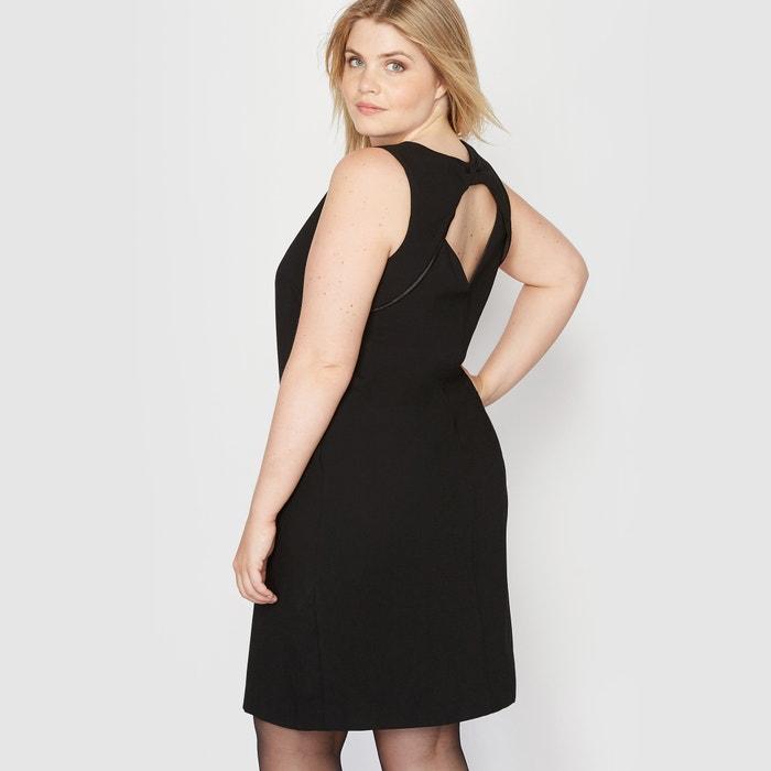 Image Sukienka bez rękawów, na plecach wykończona kokardką CASTALUNA