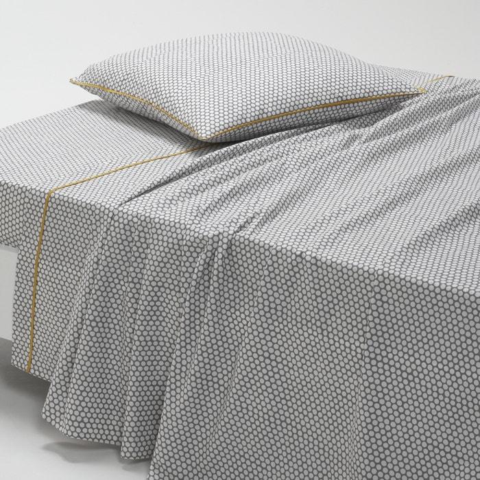 DUO Cotton Percale Flat Sheet  La Redoute Interieurs image 0